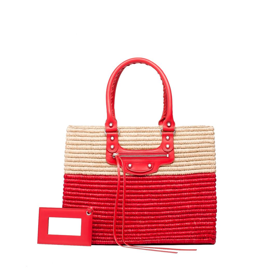 BALENCIAGA Balenciaga Panier Shopping Basket XS Tote D f