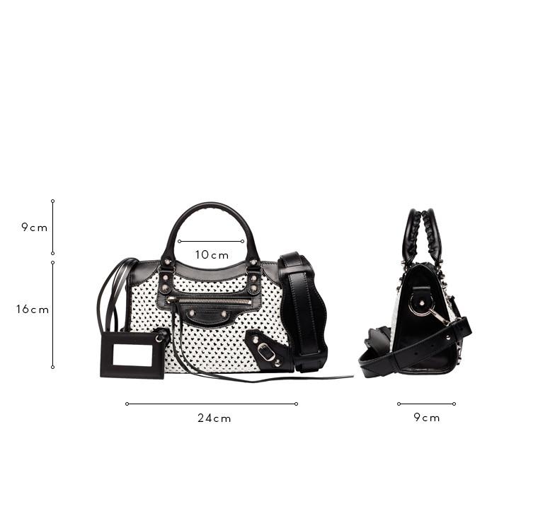 BALENCIAGA Messenger Bag D Balenciaga Weaving Classic Mini City c