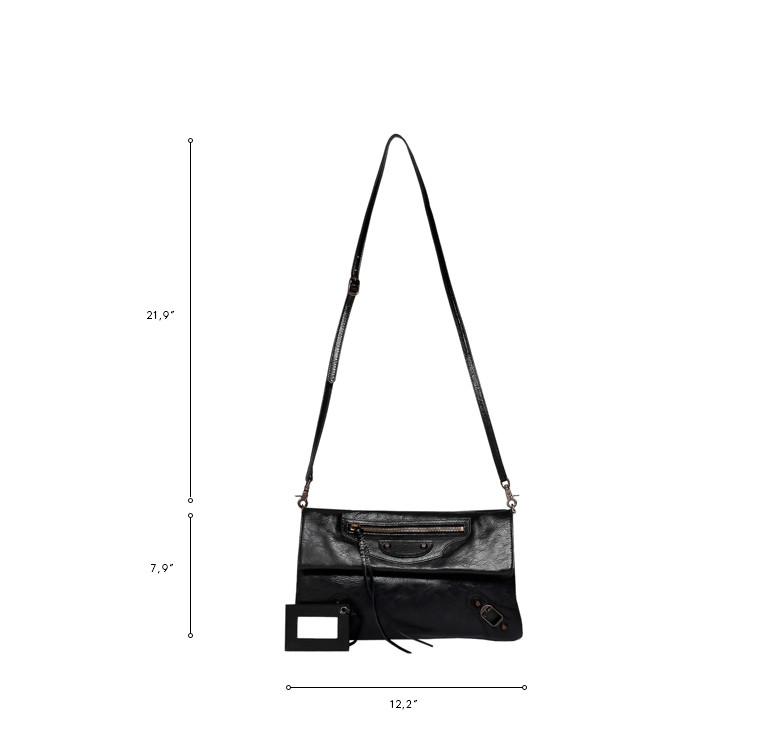 BALENCIAGA Clutch D Balenciaga Classic Envelope Strap n
