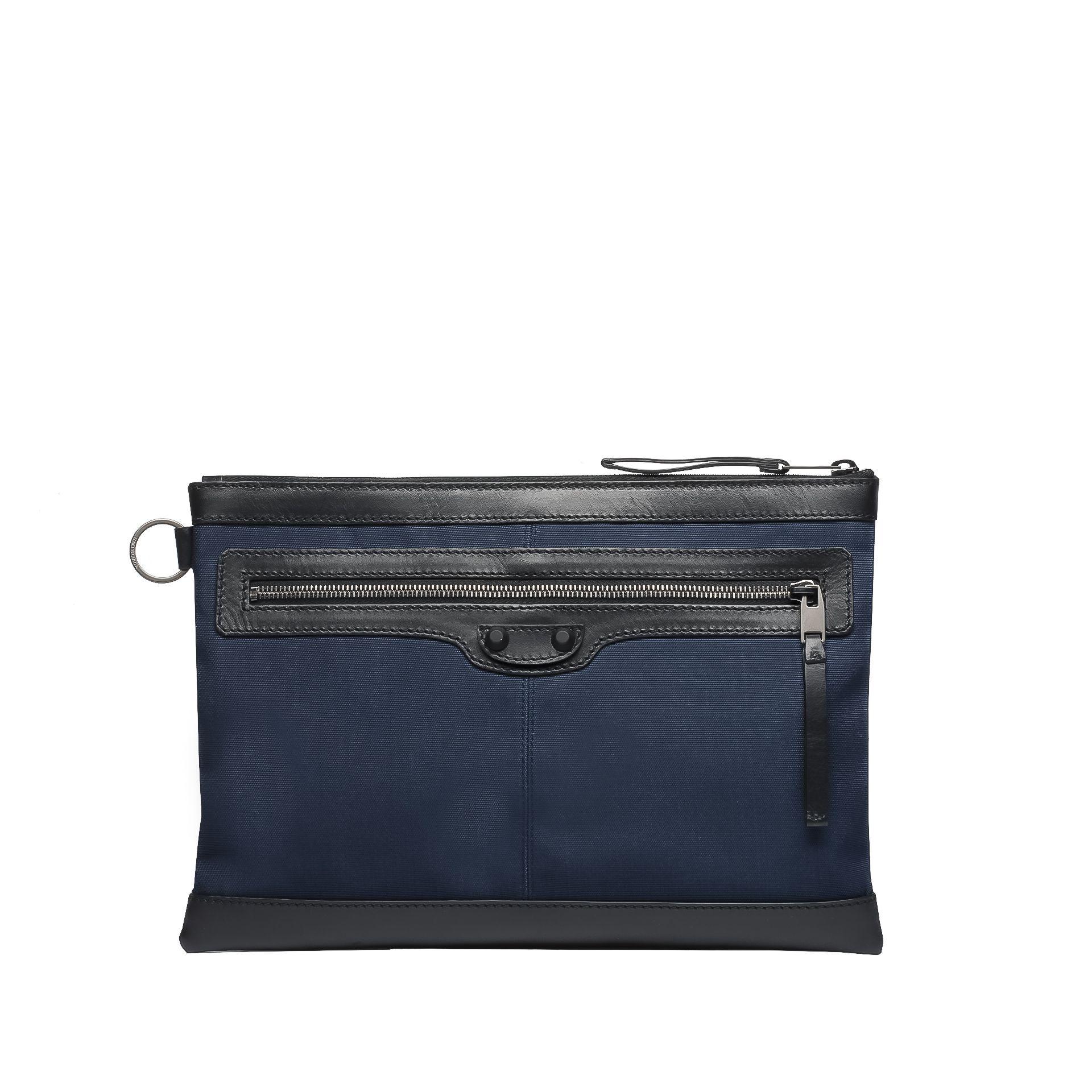 BALENCIAGA Balenciaga Bi-Material Clip M  Briefcase U f