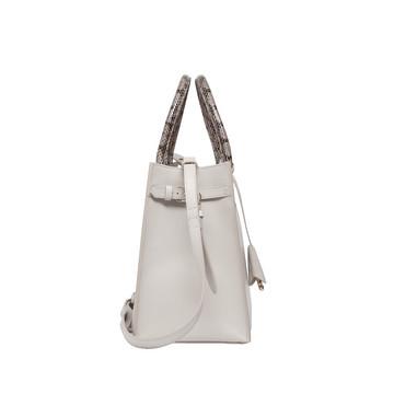BALENCIAGA Top handle bag D Balenciaga Padlock Nude Work S f