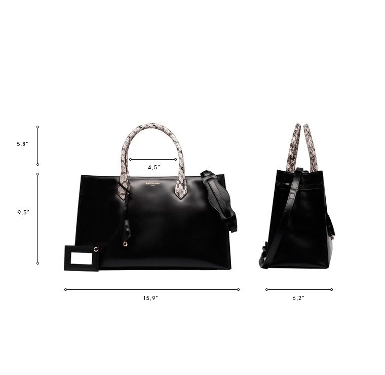 BALENCIAGA Top handle bag D Balenciaga Padlock Nude Work S n