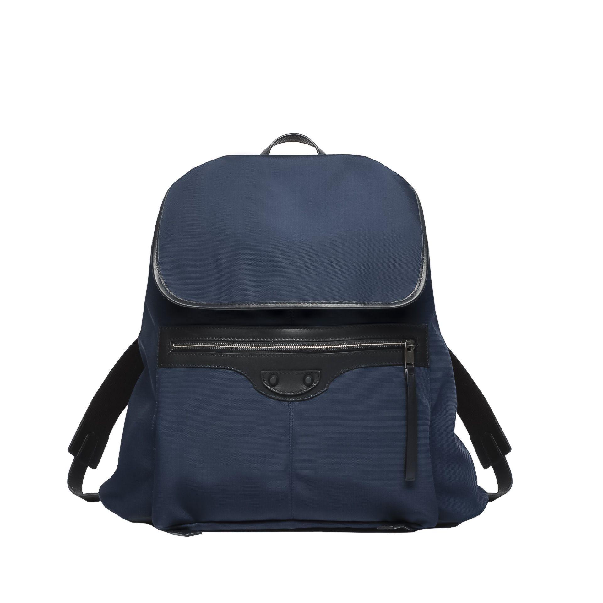 BALENCIAGA Balenciaga Bi-Material Traveller S Rucksack U f