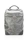 ALEXANDER WANG WALLIE BACKPACK IN DISTRESSED BLACK WITH RHODIUM BACKPACK Adult 8_n_f