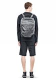 ALEXANDER WANG WALLIE BACKPACK IN DISTRESSED BLACK WITH RHODIUM BACKPACK Adult 8_n_r