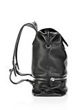 ALEXANDER WANG EXPLORER BACKPACK IN BLACK WITH RHODIUM BACKPACK Adult 8_n_e