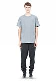 T by ALEXANDER WANG SLUB COTTON JERSEY TEE WITH CHEST POCKET TEE Adult 8_n_f