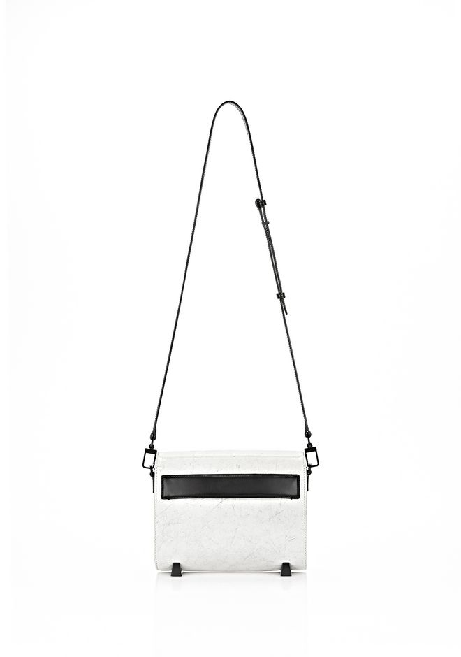 ALEXANDER WANG EXCLUSIVE CHASTITY IN CHALK WITH MATTE BLACK  Shoulder bag Adult 12_n_d