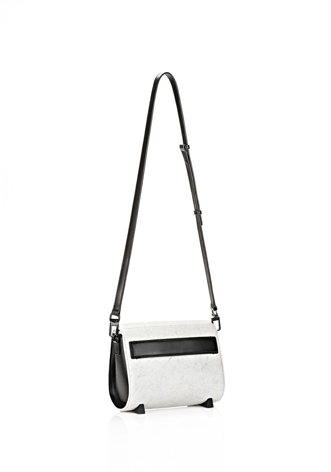 ALEXANDER WANG EXCLUSIVE CHASTITY IN CHALK WITH MATTE BLACK  Shoulder bag Adult 12_n_r