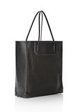ALEXANDER WANG PRISMA TOTE IN BLACK WITH MATTE BLACK TOTE/DEL Adult 8_n_r