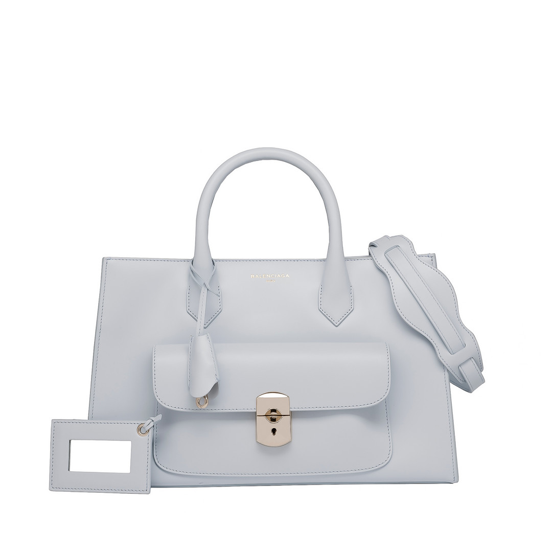BALENCIAGA Balenciaga Padlock Work XS Top handle bag D f