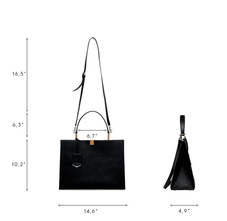 BALENCIAGA Top handle bag D Balenciaga Le Dix Cabas M n
