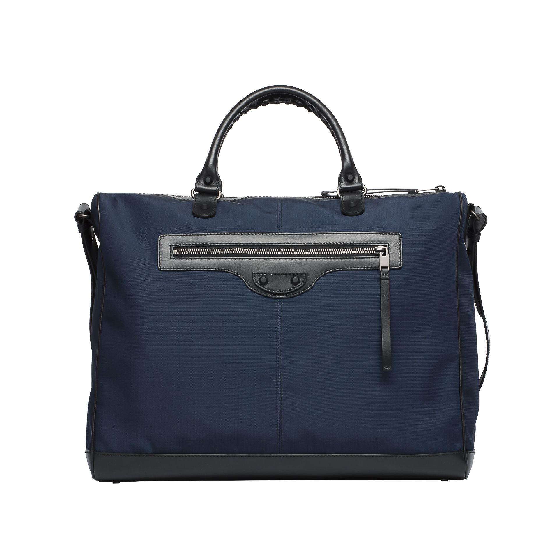 BALENCIAGA Balenciaga Bi-Material Frame Shoulder bag U f
