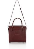 ALEXANDER WANG LARGE CHASTITY IN CORDOVAN WITH RHODIUM TOTE/DEL Adult 8_n_a