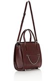 ALEXANDER WANG LARGE CHASTITY IN CORDOVAN WITH RHODIUM TOTE/DEL Adult 8_n_e