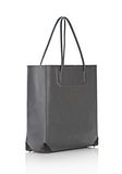 ALEXANDER WANG PRISMA TOTE IN EXHAUST WITH MATTE BLACK  TOTE/DEL Adult 8_n_e