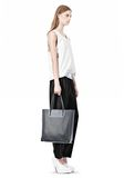 ALEXANDER WANG PRISMA TOTE IN EXHAUST WITH MATTE BLACK  TOTE/DEL Adult 8_n_r