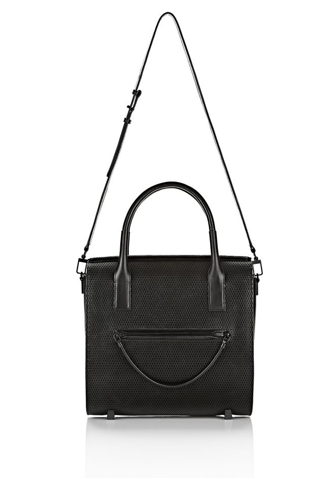 ALEXANDER WANG LARGE CHASTITY IN BLACK WITH MATTE BLACK TOTE Adult 12_n_f