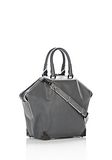 ALEXANDER WANG EMILE TOTE IN  EXHAUST WITH MATTE BLACK TOTE Adult 8_n_e