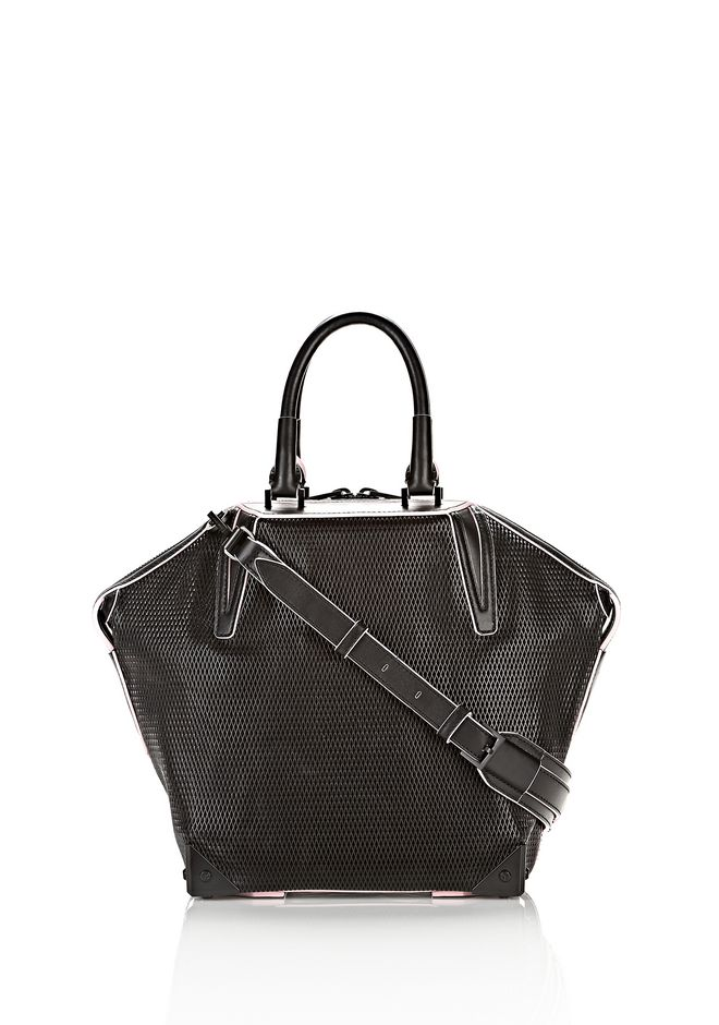 ALEXANDER WANG EMILE TOTE IN BLACK WITH MATTE BLACK TOTE/DEL Adult 12_n_f
