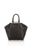 ALEXANDER WANG EMILE TOTE IN BLACK WITH MATTE BLACK TOTE/DEL Adult 8_n_a