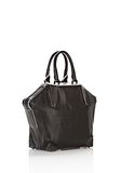 ALEXANDER WANG EMILE TOTE IN BLACK WITH MATTE BLACK TOTE/DEL Adult 8_n_e