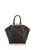 ALEXANDER WANG EMILE TOTE IN BLACK WITH MATTE BLACK TOTE/DEL Adult 8_n_f