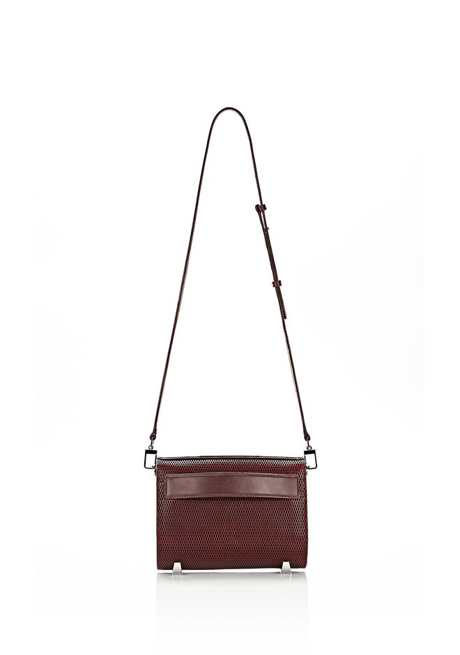 ALEXANDER WANG CHASTITY IN CORDOVAN WITH RHODIUM Shoulder bag Adult 12_n_d