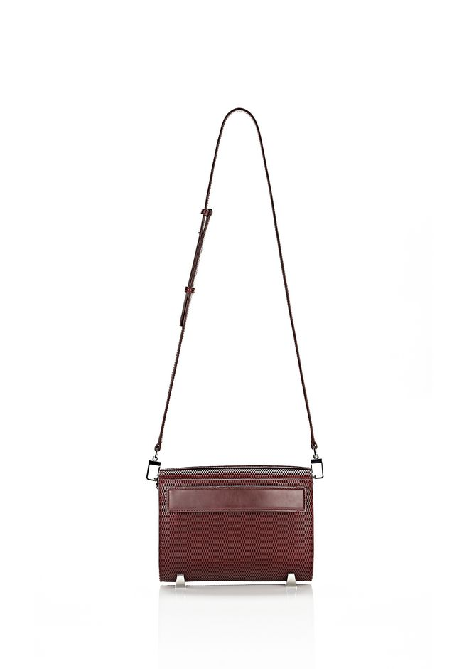 ALEXANDER WANG CHASTITY IN CORDOVAN WITH RHODIUM Shoulder bag Adult 12_n_f