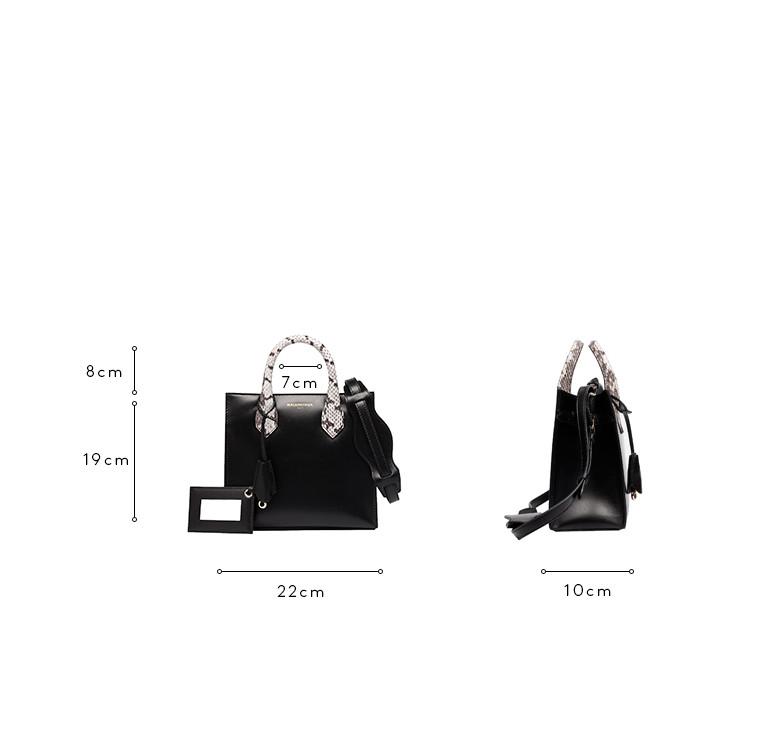 BALENCIAGA Messenger Bag D Balenciaga Padlock Nude Mini All Afternoon c