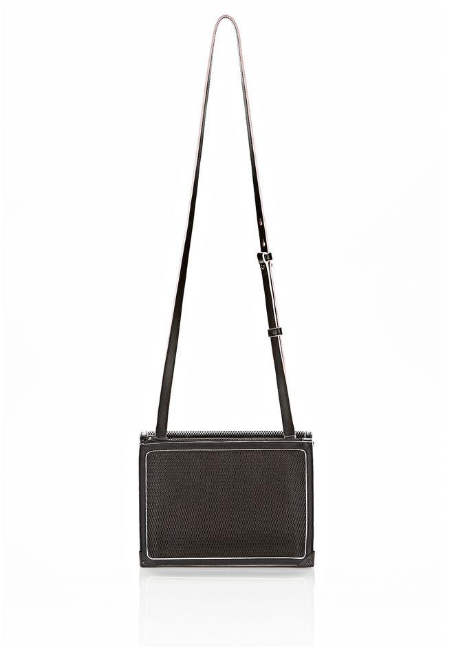 ALEXANDER WANG PRISMA DOUBLE ENVELOPE IN BLACK WITH MATTE BLACK  Shoulder bag Adult 12_n_a