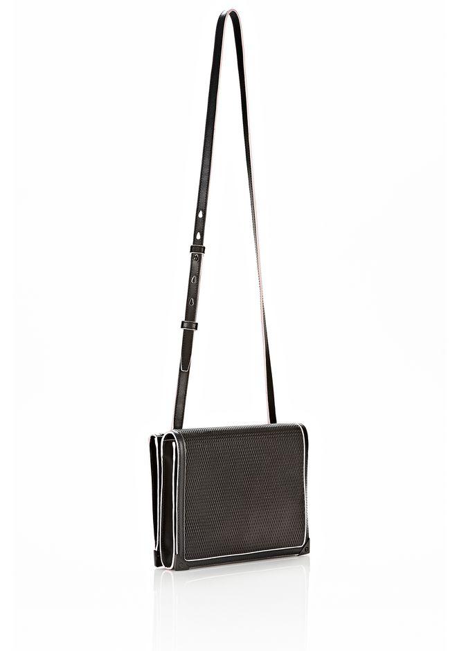 ALEXANDER WANG PRISMA DOUBLE ENVELOPE IN BLACK WITH MATTE BLACK  Shoulder bag Adult 12_n_e