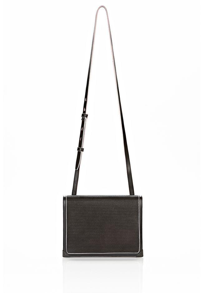 ALEXANDER WANG PRISMA DOUBLE ENVELOPE IN BLACK WITH MATTE BLACK  Shoulder bag Adult 12_n_f