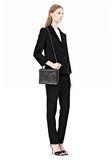 ALEXANDER WANG PRISMA DOUBLE ENVELOPE IN BLACK WITH MATTE BLACK  Shoulder bag Adult 8_n_r