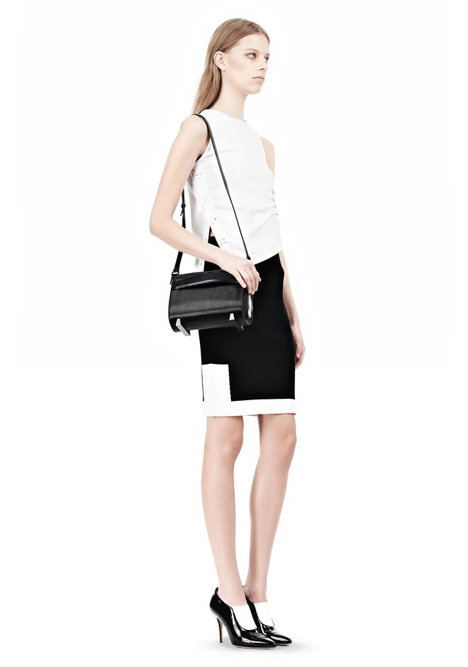 ALEXANDER WANG CHASTITY IN BLACK WITH MATTE BLACK Shoulder bag Adult 12_n_r