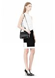 ALEXANDER WANG CHASTITY IN BLACK WITH MATTE BLACK Shoulder bag Adult 8_n_r