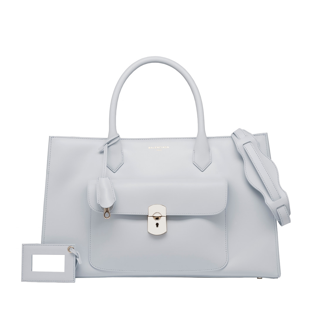 BALENCIAGA Balenciaga Padlock Work S Top handle bag D f