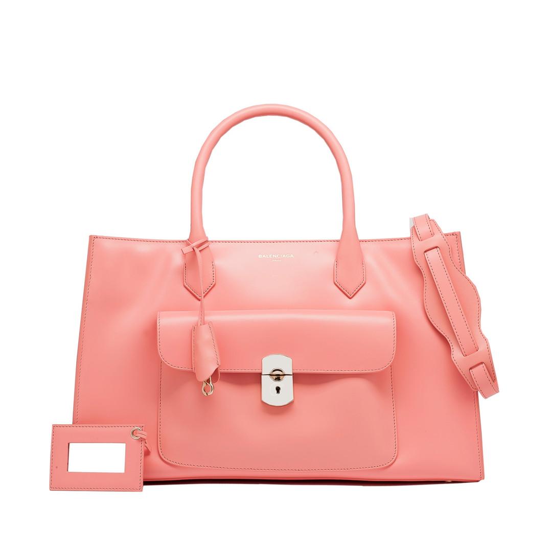 BALENCIAGA Balenciaga Padlock Work S Top handle bag D f