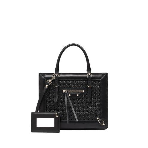 BALENCIAGA Messenger Bag D Balenciaga Weaving Mini Papier A4 f