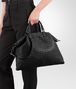 BOTTEGA VENETA MEDIUM CONVERTIBLE BAG IN NERO INTRECCIATO NAPPA Top Handle Bag Woman ap