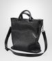 BOTTEGA VENETA SHOPPER NERA IN LIGHT CALF INTRECCIATO Borsa Shopping U rp