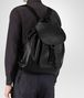 BOTTEGA VENETA BACKPACK IN NERO INTRECCIATO CALF Messenger Bag Man ap