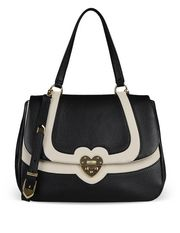 Large leather bag Woman MOSCHINO CHEAP AND CHIC