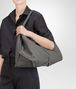 BOTTEGA VENETA SHOULDER BAG IN NEW LIGHT GREY CERVO Shoulder or hobo bag D ap
