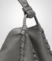 BOTTEGA VENETA SHOULDER BAG IN NEW LIGHT GREY CERVO Shoulder or hobo bag D ep