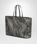 BOTTEGA VENETA LARGE TOTE BAG IN NEW LIGHT GREY INTRECCIOLUSION Tote Bag Woman rp
