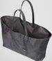 BOTTEGA VENETA New Dark Grey Intrecciolusion Large Tote Tote Bag D dp