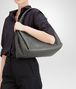 BOTTEGA VENETA PARACHUTE BAG IN NEW LIGHT GREY INTRECCIATO NAPPA Shoulder or hobo bag D ap