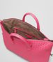 BOTTEGA VENETA Rosa Shock Intrecciato Nappa Convertible Bag Top Handle Bag D dp