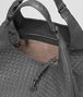 BOTTEGA VENETA GROSSE CAMPANA TASCHE AUS INTRECCIATO NAPPA IN NEW LIGHT GREY Schultertasche D dp